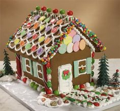 Gluten, Egg and Dairy Free Gingerbread House