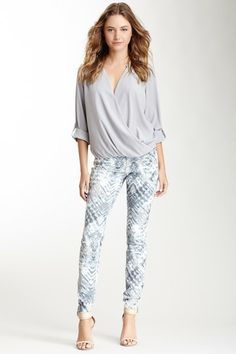 Starstruck Print Jegging by DKNY Jeans on @HauteLook