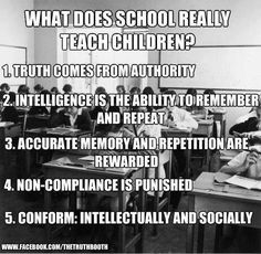 Exactly why I want to home school/unschool