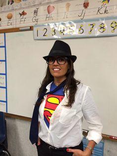 Clark Kent Halloween costume.