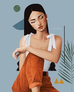 It's been a while since I shared my last featured artist , but I came across Janice Sung's incredible artwork and knew it was time t. Free Illustration, Portrait Illustration, Art Illustrations, Technical Illustration, Illustration Fashion, Fantasy Illustration, Graphic Design Illustration, Fashion Illustrations, L'art Du Portrait