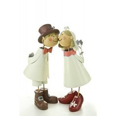 Metal Bridal Couple Kiss by Handmade and hand-painted figures, http://www.amazon.co.uk/dp/B00DG1INU4/ref=cm_sw_r_pi_dp_XuM7rb0E5GQ1Z