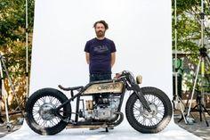CANAVESE - La moto «Oracolo» di Eugenio Vezzetti sbanca il Deus Bike Build Off 2016