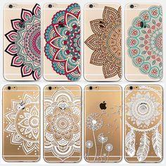 Phone Cases for Apple iPhone 5 5S SE 6 6S Plus 6Plus HENNA DREAM CATCHER Ethnic Tribal Flowers Painted TPU Silicon Cover Capa dans Téléphone Sacs et Valises de Téléphones et Télécommunications sur AliExpress.com | Alibaba Group