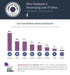 Cuáles son las redes sociales favoritas de los usuarios de Facebook?