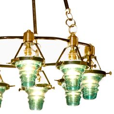 Telegraph Light Round Chandelier