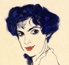 Egon Schiele - Elizabeth Lederer