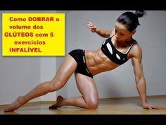 Como DOBRAR o volume dos GLÚTEOS com 5 exercícios INFALÍVEL - YouTube