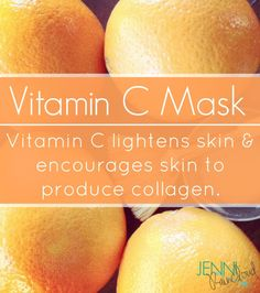 I& really impressed with Vitamin C, also known as L. One spa I worked at at the very beginning of my career offered a Vitamin C facial. I remember how radiant my skin and my clien. Diy Vitamin C Serum, Vitamin C Mask, Beauty Care, Beauty Skin, Health And Beauty, Beauty Tips, Diy Beauty, Face Beauty, Beauty Stuff