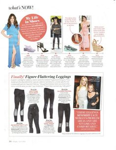 Our Tracy Anderson Method leggings featured in InStyle Magazine