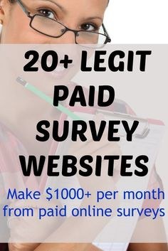 Paid surveys are the easiest way to make money online fast! Make money from home fast with these companies that pay you for completing paid surveys online. Fastest way to work from home and get started making money online! These paid survey websites are l