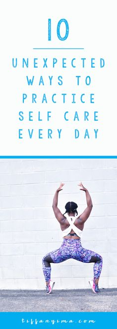 You are sitting at your computer trying to innovate one more blog post and nothing comes to mind. You feel like you've already covered EVERYTHING and are overwhelmed. Getting into the habit of practicing moments of daily self care and giving yourself permission to take breaks from your creative projects will help you to avoid suffering from overwhelm. Click Through for 10 Unexpected Ways To Practice Self Care Everyday!