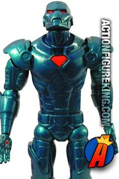 This Marvel Select Stealth Iron Man Figure from Diamond Select Toys is a repaint of their earlier Iron Man figure. Fully articulated, 7-inch scale. #ironmanstealth #marvelselect #diamondtoys