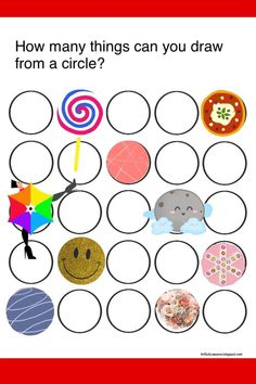 What can you draw out of circles? Back To School Art Activity, Middle School Art, Art School, Circle Drawing, Circle Art, Art Sub Plans, Art Lesson Plans, Easy Art Projects, Project Ideas