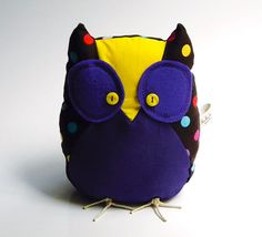 Armando the owl  Handmade in Italy by contemori on Etsy, €23.00