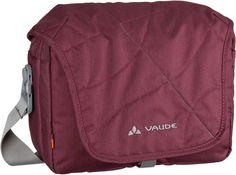 Vaude agaPET Umhängetasche Claret Red (innen: Grau) - Notebooktasche   Tablet