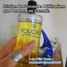 Les frictions de Foucaud, vous connaissez ? Non, il ne s'agit d'une loi de…