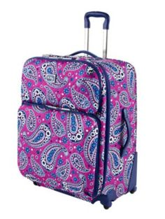 Vera Bradley + luggage  ~ for the girl who is always on the go and loves her Vera!!  #MySuiteSetupSweepstakes