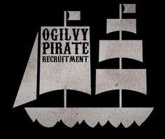 Ogilvy pirate Photoshop pour recruter des Webdesigners !