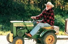 "Richard Farnsworth in David Lynch's ""The Straight Story"""