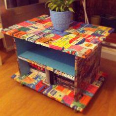Mueble Pop de TV. De www.colectivoaccioncreativa.com