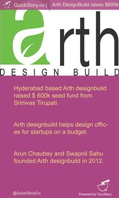 In June 2015, Arth designbuild raised $600 k seed fund from Srinivas Tirupati.