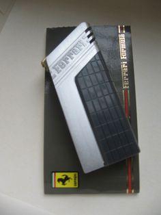CARTIER LINE FERRARI FORMULA LIGHTER SILVER COLOR,  NOS, WITH BOX