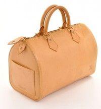 Louis Vuitton Vachetta Speedy 30 Bag