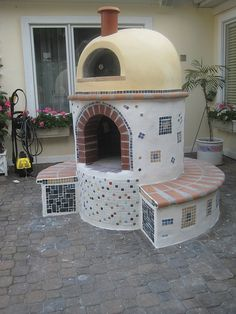 Oven installations are made easy with our kit ovens. See our various lines of pizza ovens and how they were installed with our pizza oven picture gallery now! Wood Oven, Wood Fired Oven, Wood Fired Pizza, Pizza Oven Outdoor, Outdoor Cooking, Outdoor Kitchens, Pizza Oven Fireplace, Pergola, Brick Bbq