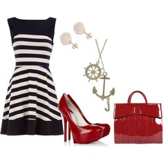 Sailing... my cruise needs this outfit