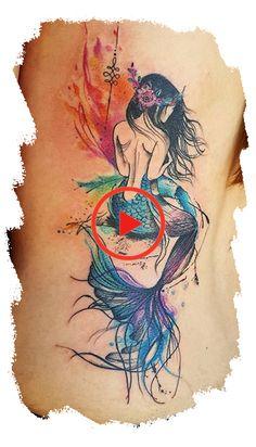 Best Ideas Sexy Tattoos For Woman (mermaid) - Tattoos for women are available in. - Best Ideas Sexy Tattoos For Woman (mermaid) – Tattoos for women are available in various options - Tattoo Femeninos, Tatoo Art, Back Tattoo, Tattoo Drawings, Tattoo Small, Tattoo Flash, Little Mermaid Tattoos, Mermaid Sleeve Tattoos, Mermaid Tattoo Designs