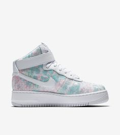 """Nike Releases Its """"Glass Slippers"""" Air Force 1 Upstep Hi LX 
