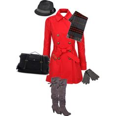 Cold Weather City Chic, created by deesue on Polyvore