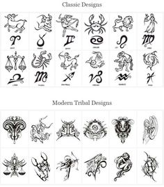 astrological tatoos | Astrology Tattoos Designs Back Tattoos Pictures - Free Download Tattoo ...