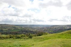 Believed to be the site of King Arthur's decisive victory, Battle of Mt. Badon, this high hill overlooks scenic Bath.