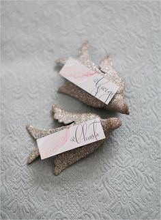 escort cards by Kristy Rice