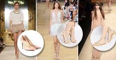 Color nude: le scarpe color carne per allungare le gambe - Consigli di shopping   Donna Moderna