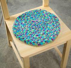 Braided Yarn Chair Pad