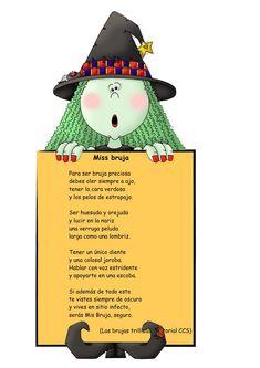 Maestra de Infantil: Poesía. Miss Bruja