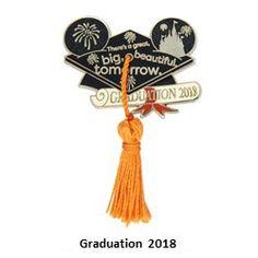 Your WDW Store - Disney Graduation Pin - 2018 Graduation - Class of 2018