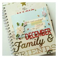 Christmas Memories: mini album created to celebrate the holiday season. Inspired by Ali Edwards' December Daily. Product used: Simple Stories Classic Christmas Collection. Created for @treasuredmemoriesedmonton