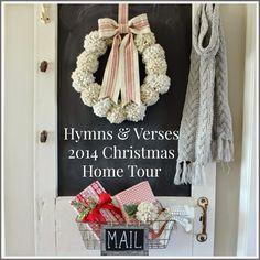 Hymns and Verses: 2014 Christmas Home Tour