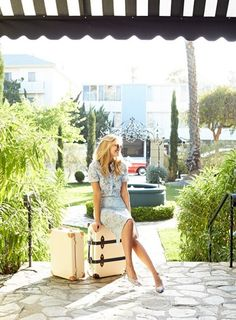 Create your own vintage, cool summer look inspired by Santa Monica's @Palihouse.