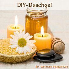 Duschgel selber machen - Duschgel Rezept für Honig Duschgel ...