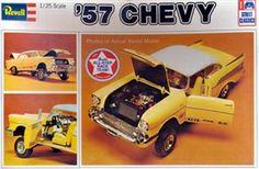 Revell 57 Chevy box art