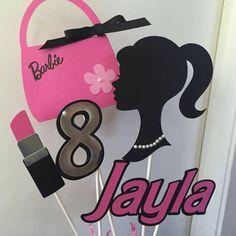 Barbie Centerpiece / pastel de cumpleaños por PinkPaperCottage