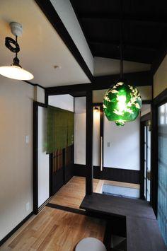 京都の伝統家屋 町家の貸切の宿 朱雀若草庵_カウンター kyoyadoya Japan kyoto machiya inn