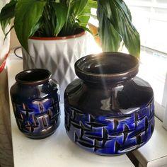 Beautiful Haldensleben vases 3054 and 3048 ♡