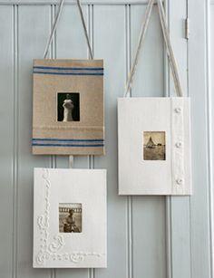 Haal oude linnengoed uit de kast en maakt er leuke stoffen fotolijstjes van.  (Lees verder…)