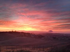 San Benito County Sunset... Paradise